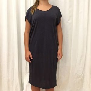 Velvet Graham & Spencer Blue Loose Dress Medium
